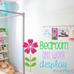 Child's bedroom artwork display - Ask Anna
