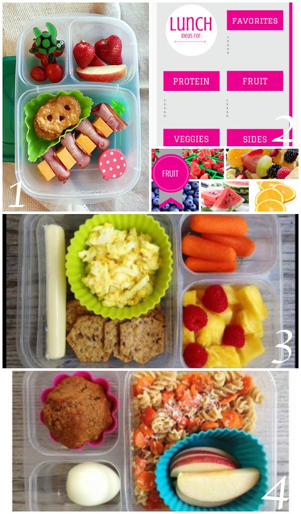 Healthy lunch box ideas - Ask Anna