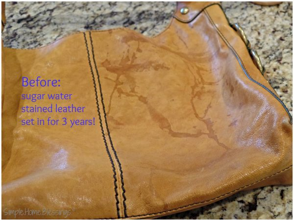How To Clean Water Stains Off Leather Purse Best Image Ccdbb