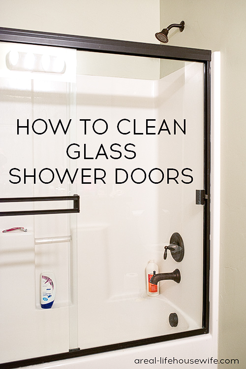 Wonderful How To Clean Glass Shower Doors   Ask Anna