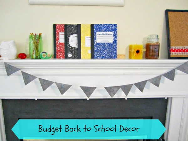budget back to school banner