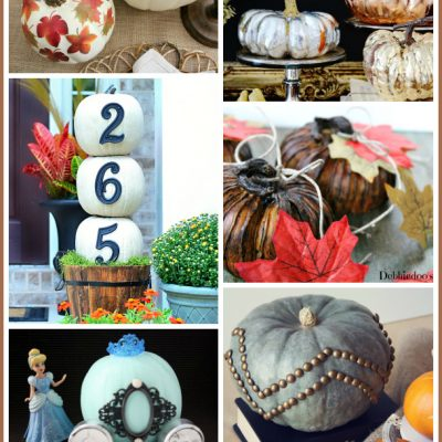20 Decorative Pumpkins for Fall