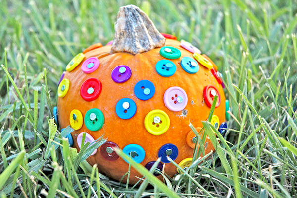 Button pumpkins