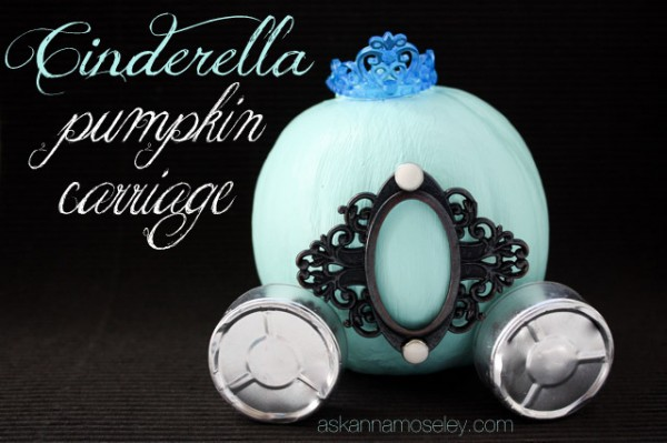 Cinderella pumpkin carriage - Ask-Anna