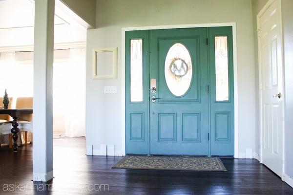Open entryway