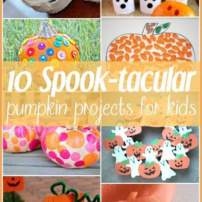 10 Spook-tacular Pumpkin Crafts for Kids