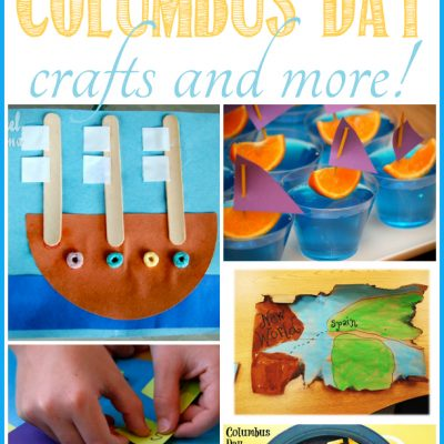 Columbus Day Crafts and more!