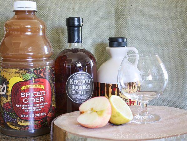 Bourbon maple apple cider - Ask Anna