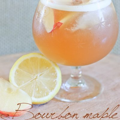 Bourbon Maple Apple Cider – the Perfect Fall Cocktail