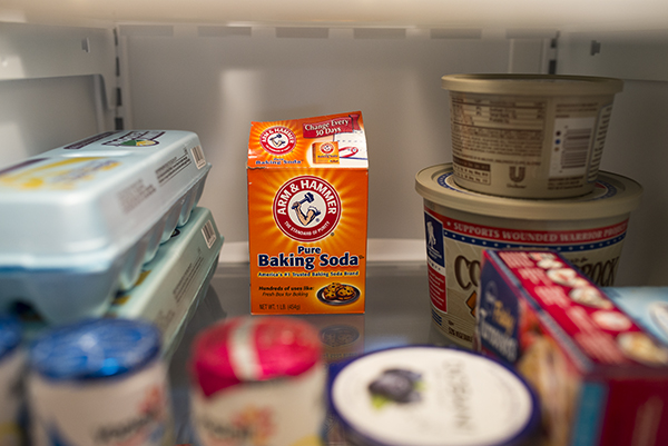 New box of Baking Soda in fridge each month to keep it fresh