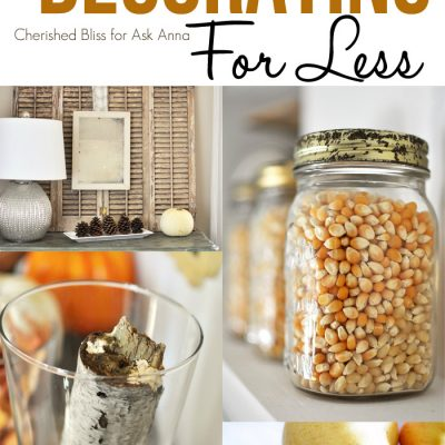 Fall Decorating Tips using the Outdoors