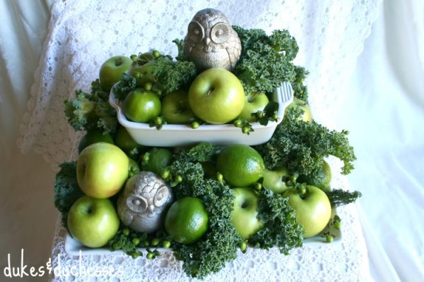 Grocery store centerpiece