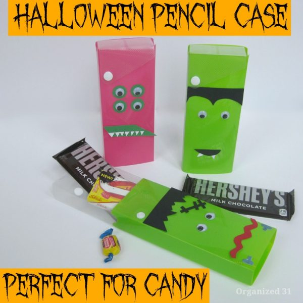Halloween pencil case (for candy)