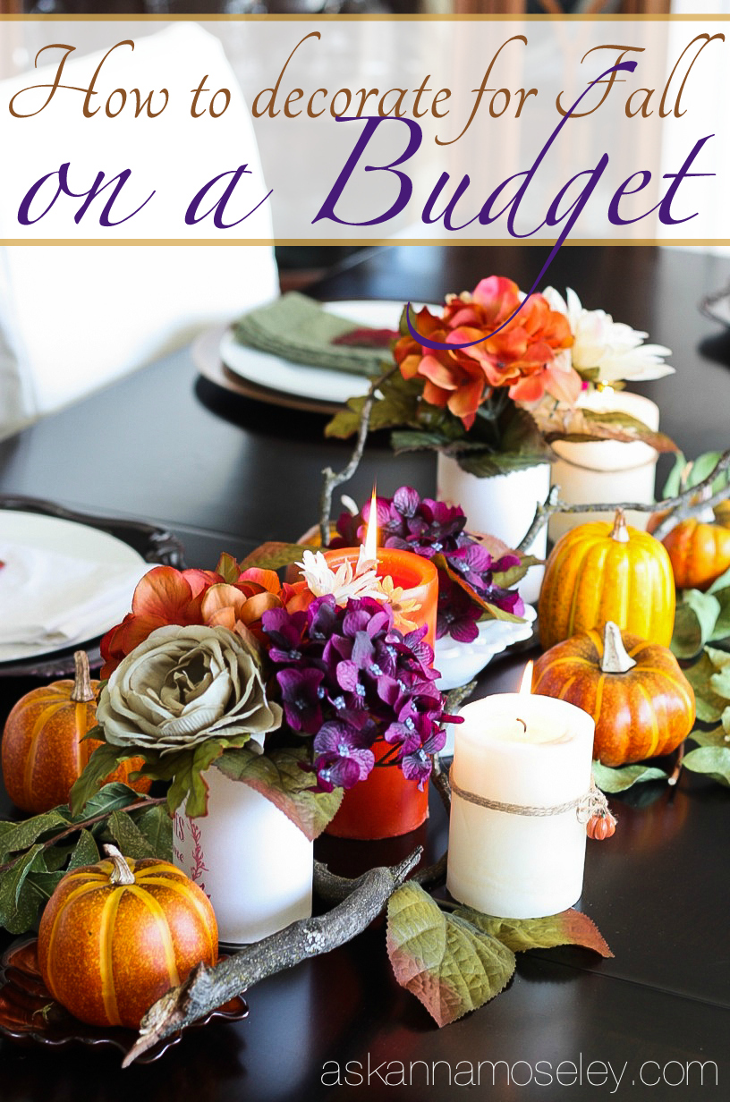 How To Decorate For Fall On A Budget Ask Anna