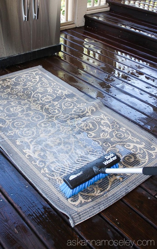 The Easiest Way To Clean A Deck Ask Anna