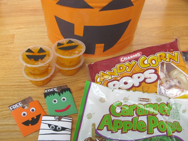How to Organize Halloween Candy