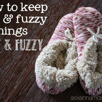 How to Keep Soft Blankets, and other Fuzzy things, Soft