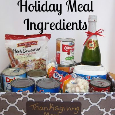 Tips for Organizing Holiday Meal Ingredients