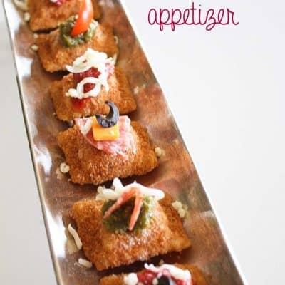 Quick and Easy Toasted Ravioli Appetizer
