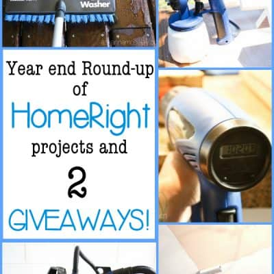 Year end Roundup of my favorite HomeRight tools & a Giveaway!