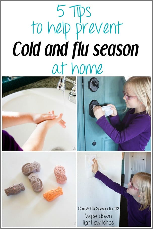 5 tips to help keep cold and flu season out of your home - Ask Anna #healthierhome