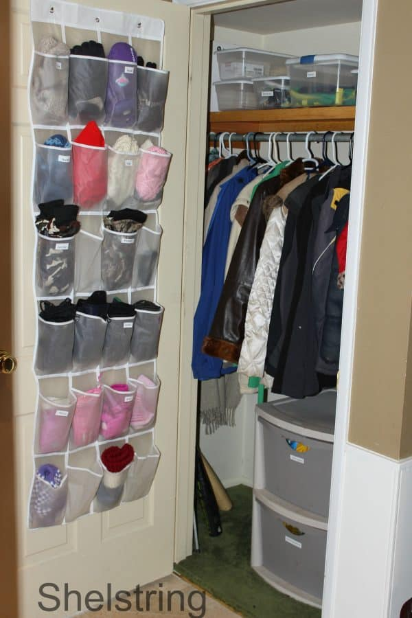Delightful Coat Closet Organization: Thinking Outside The Box