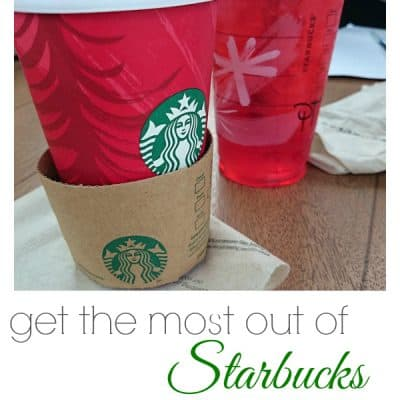 How to Get the Most out of your Starbucks Gift Cards