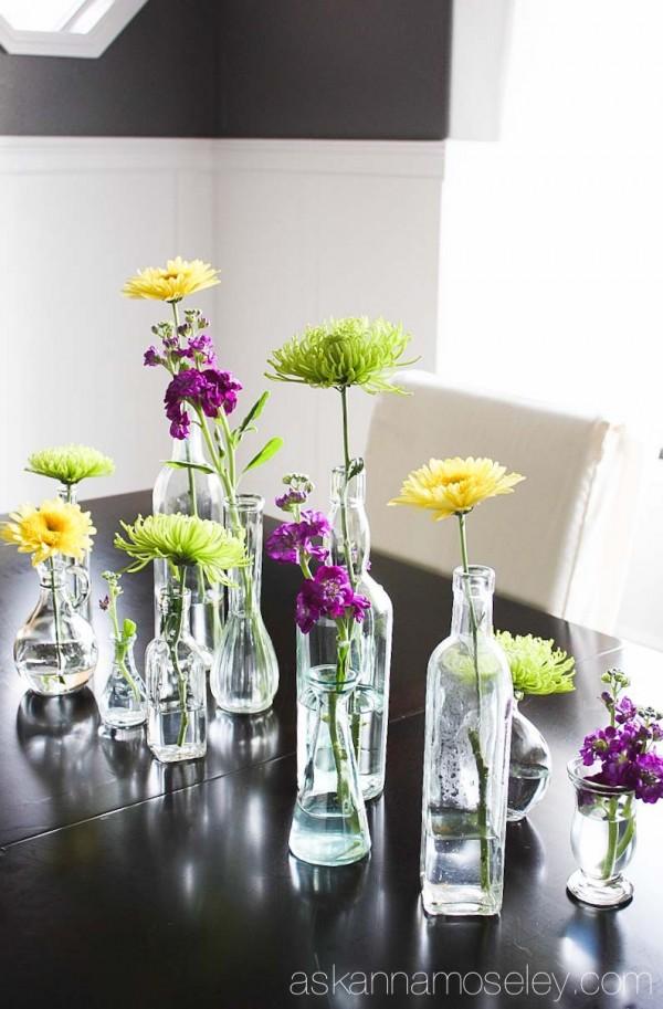 Simple Springtime Table Decorations - Ask Anna
