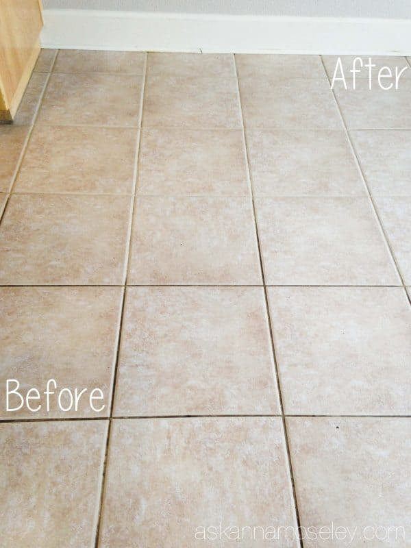 How To Clean Tile Grout Without Chemicals Ask Anna - Does steam clean grout