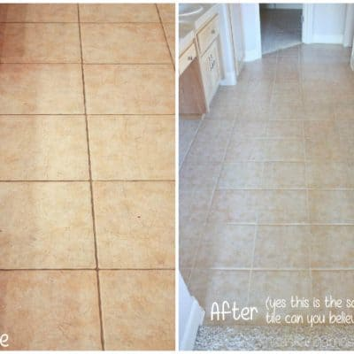 How to Clean Tile Grout without Chemicals
