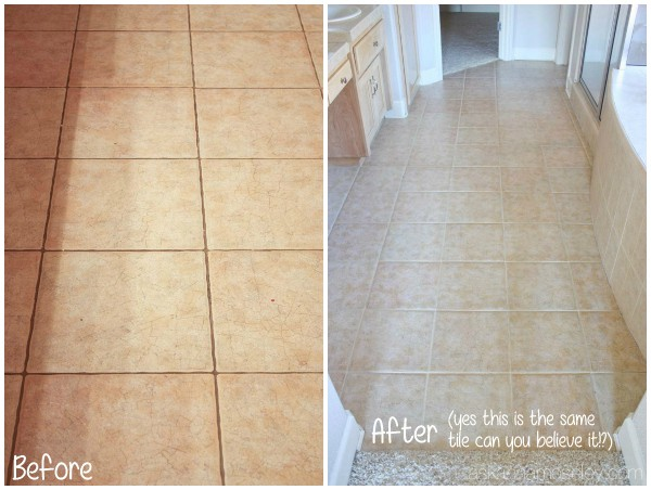 How To Clean Tile Grout Without Chemicals Ask Anna