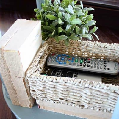 The Easiest way to Organize your Remote Controls