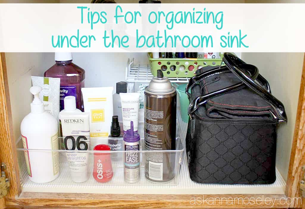 under kitchen sink organizing ideas tips for organizing the bathroom sink ask 26108