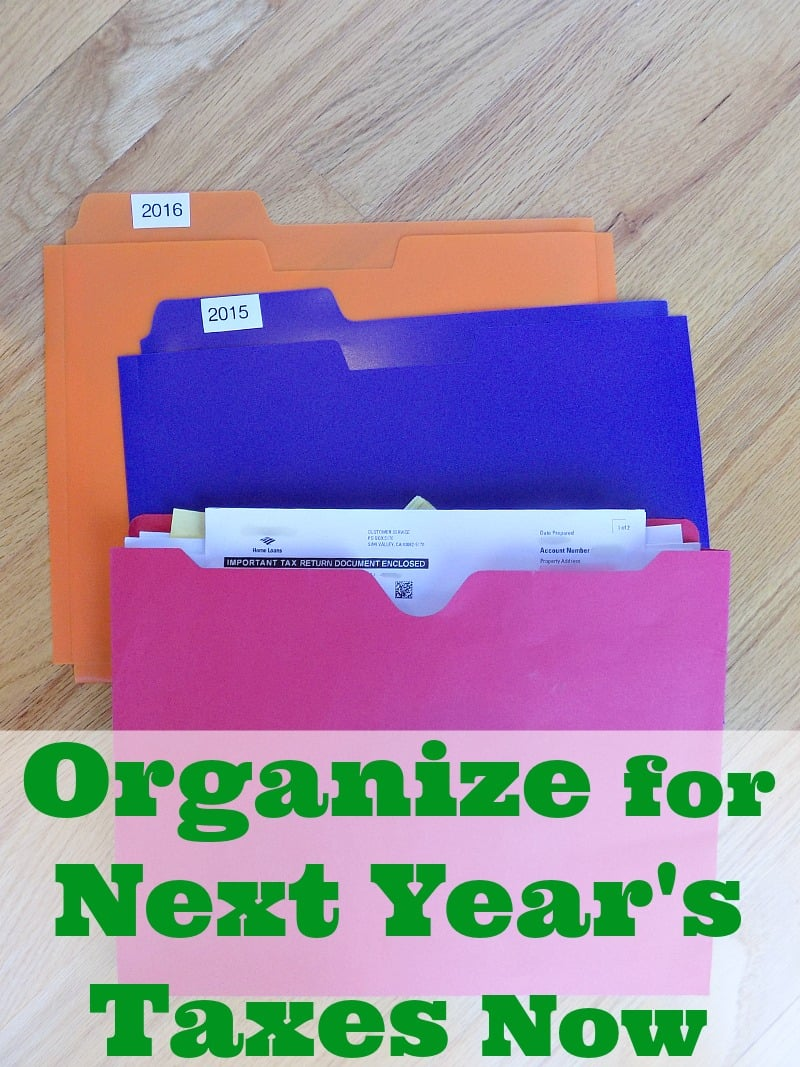 How To Organize For Next Years Taxes Starting Now Ask Anna