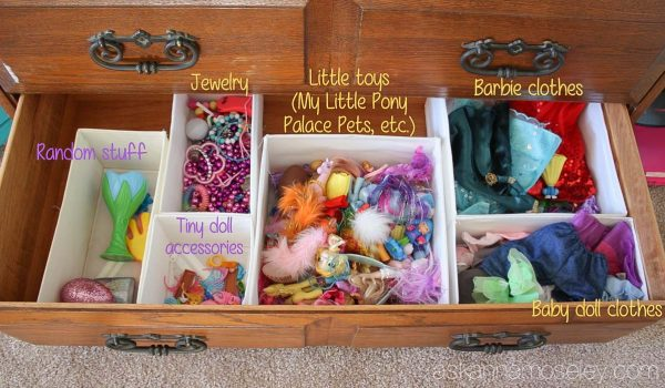 Organzing a kids dresser with SKUBB organizers from IKEA - Ask Anna