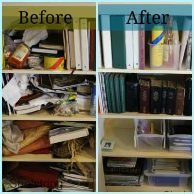 Cupboard Organization and a Cleaning Tip