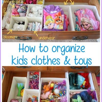 Easy Tips for Organizing Kids Clothes and Toys
