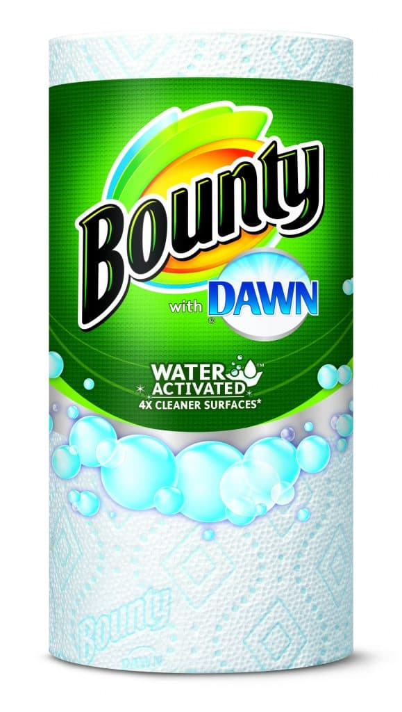 Bounty with Dawn paper towels