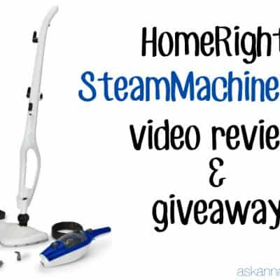 My Favorite Steam Mop & a Giveaway!