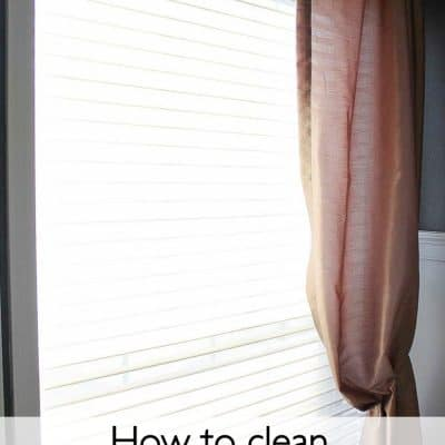 How to Clean Silhouette Blinds