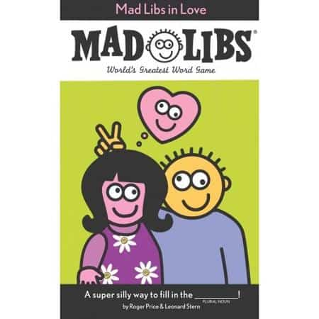 Mad Libs in Love, perfect for a date night in with your husband