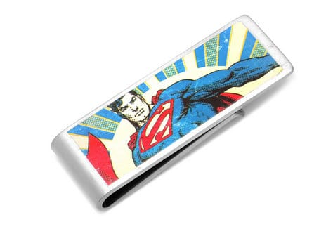 Is your man your Super Man? Show him with this fun, custom money clip.