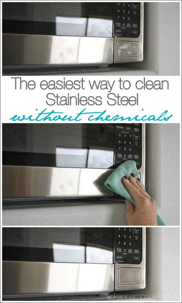 The easiest way to clean stainless steel appliances - Ask Anna