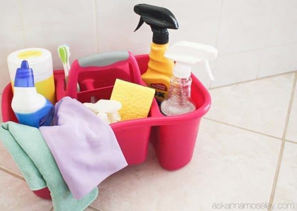 What's in my cleaning toolbox - Ask Anna's favorite cleaning products