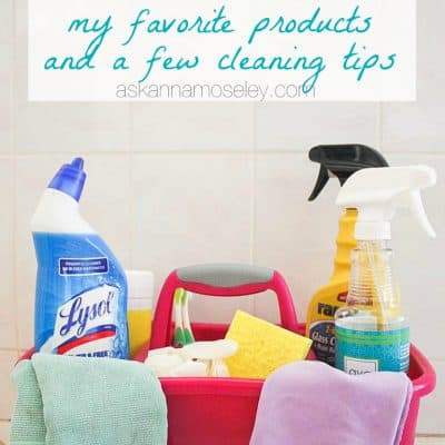 What's in my Cleaning Toolbox & a Few Cleaning Tips