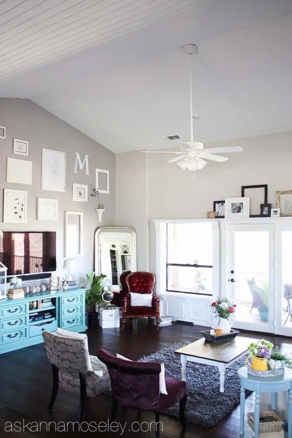 White Paneled Ceiling   Ask Anna
