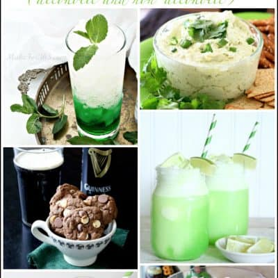 St. Patrick's Day Food and Drinks (alcoholic & non-alcoholic)