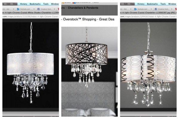 Chandelier collage - Ask Anna