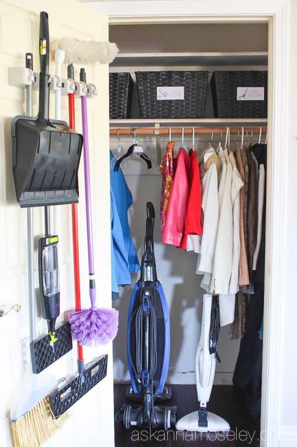 Coat closet organization ask anna