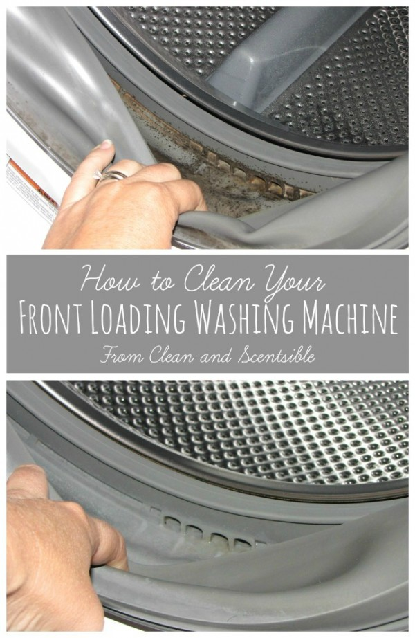 How to Clean your Front Load Washer with Clean and Scentsible